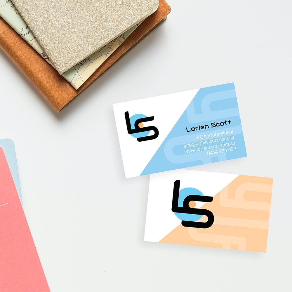 Lorien Scott, Business Card Design.