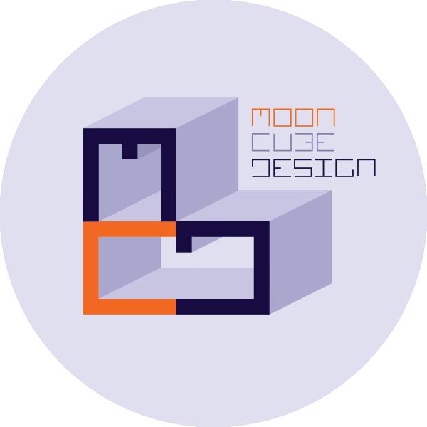Moon Cube Design